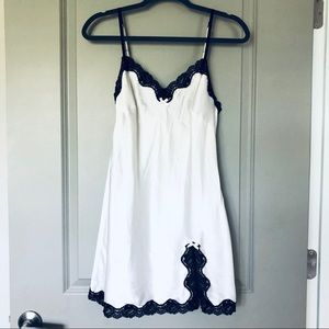 Silky White Victoria's Secret Nightie / Slip